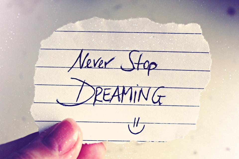 夢をあきらめないこと