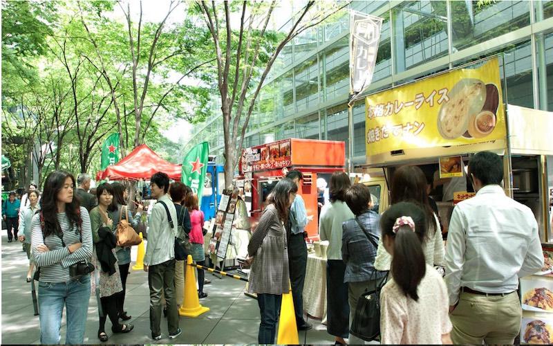 東京国際フォーラムネオ屋台村