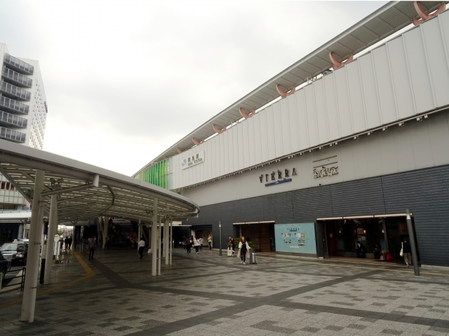 奈良駅前の風景