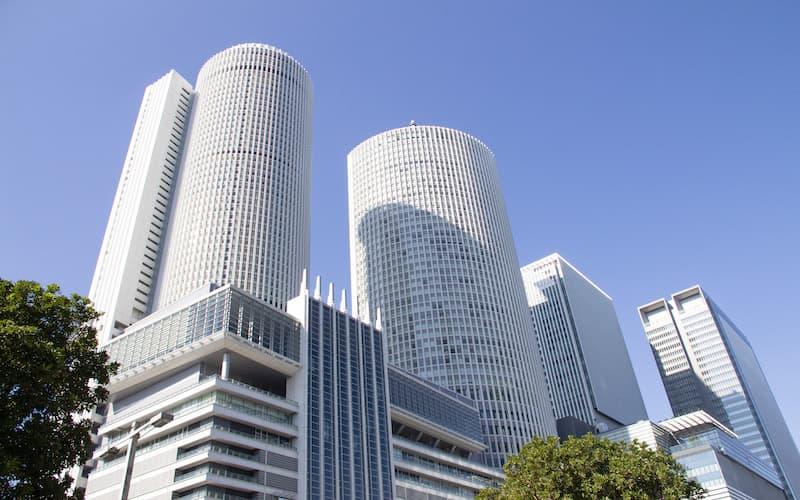 JR名古屋駅のツインタワー
